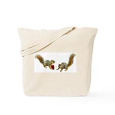 Squirrel Heart Tote Bag