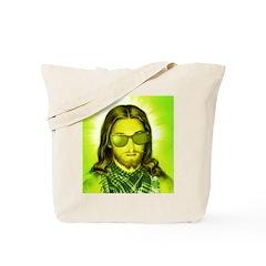 Hipster Jesus Christ Tote Bag