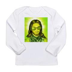 Hipster Jesus Christ Long Sleeve Infant T-Shirt