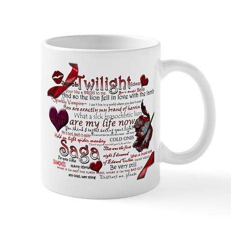 Twilight Quotes Mug