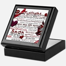 Twilight Quotes Keepsake Box