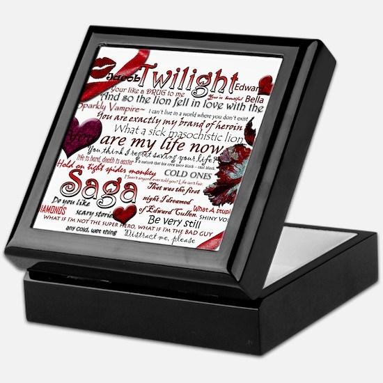 Twilight Quotes Keepsake Box