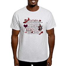 Twilight Quotes T-Shirt