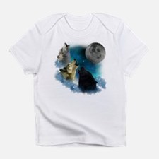 Northern Lights Wolfs Howling Infant T-Shirt