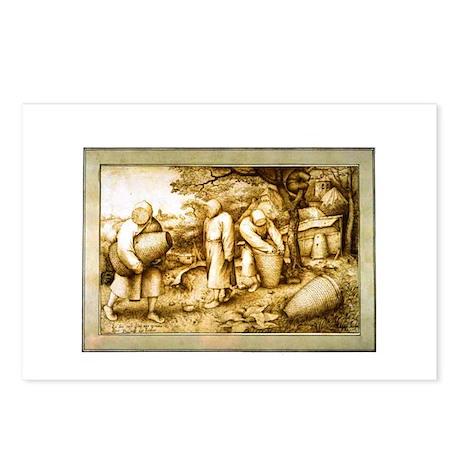 Medieval Beekeepers Postcards (Package of 8)