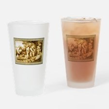 Medieval Beekeepers Drinking Glass