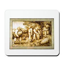 Medieval Beekeepers Mousepad