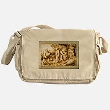 Medieval Beekeepers Messenger Bag