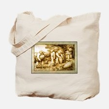 Medieval Beekeepers Tote Bag