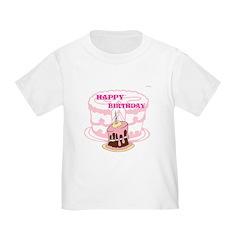 OYOOS Birthday Cake design T