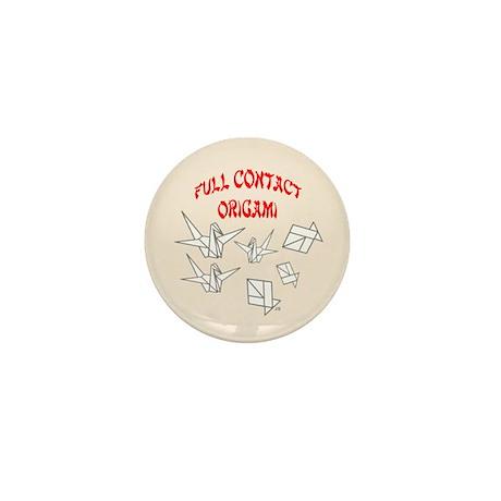 Full Contact Origami-Neut Mini Button (100 pack)