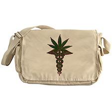 Medical Marijuana Messenger Bag