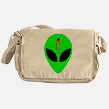 Dead Alien Messenger Bag