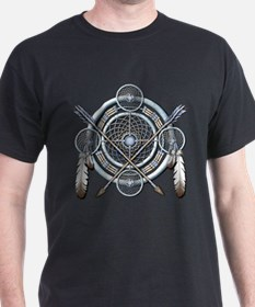 Winter Blue Dreamcatcher T-Shirt