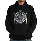 Native american indian Dark Hoodies