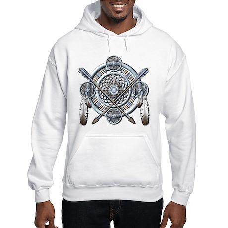 Winter Blue Dreamcatcher Hooded Sweatshirt