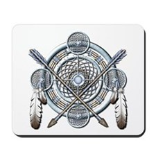 Winter Blue Dreamcatcher Mousepad
