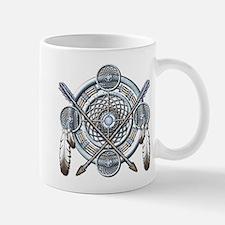 Winter Blue Dreamcatcher Mug