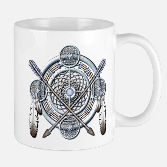 Winter Blue Dreamcatcher Mug