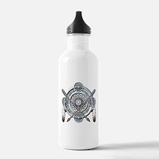Winter Blue Dreamcatcher Water Bottle
