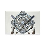 Winter Blue Dreamcatcher Rectangle Magnet (100 pac