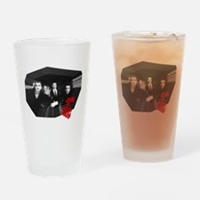 Happy Zombies Drinking Glass