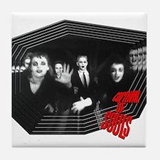 Happy Zombies Tile Coaster