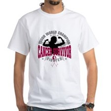 Throat Cancer Tough Survivor Shirt