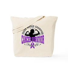 Pancreatic Cancer ToughSurvivor Tote Bag
