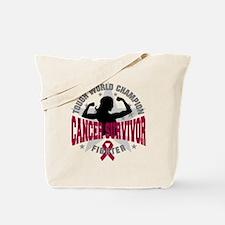 Multiple Myeloma ToughSurvivor Tote Bag