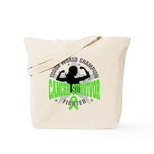 Lymphoma Tough Survivor Tote Bag