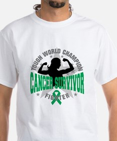 Liver Cancer Tough Survivor Shirt