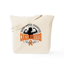 Leukemia Tough Survivor Tote Bag