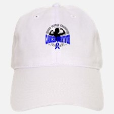 Colon Cancer Tough Survivor Baseball Baseball Cap