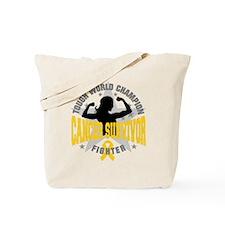 Childhood Cancer ToughSurvivor Tote Bag