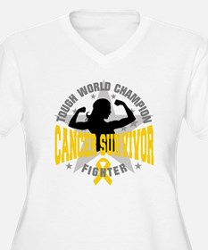 Childhood Cancer ToughSurvivor T-Shirt