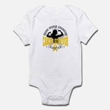 Childhood Cancer ToughSurvivor Infant Bodysuit