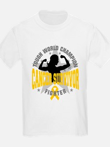 Childhood Cancer ToughSurvivor T-Shirt