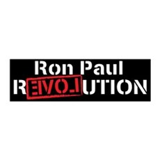 Ron Paul 2012 42x14 Wall Peel