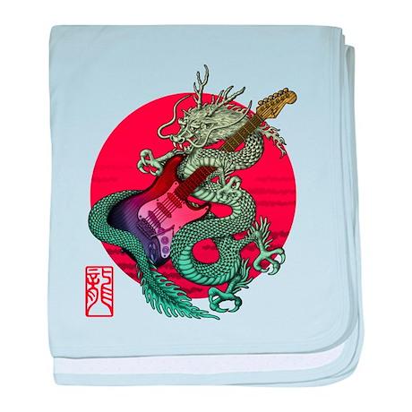 kuuma dragonguitar 3 baby blanket