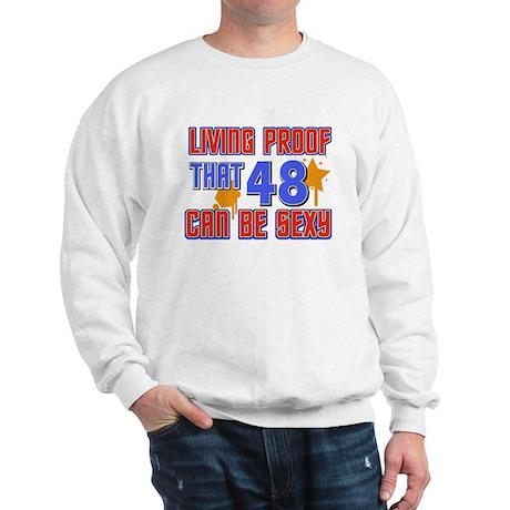 Cool 48 year old birthday design Sweatshirt