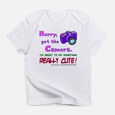 Get The Camera! Infant T-Shirt