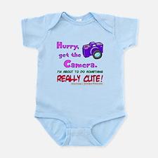Get The Camera! Infant Bodysuit