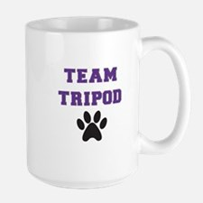 Team Tripod With Single Paw Print Mugs