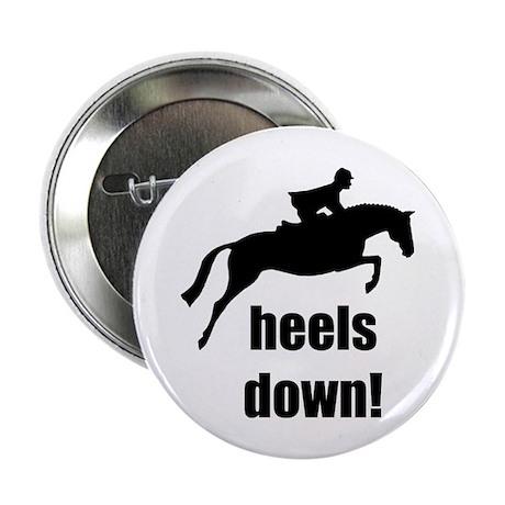 """heels down jumper 2.25"""" Button (100 pack)"""