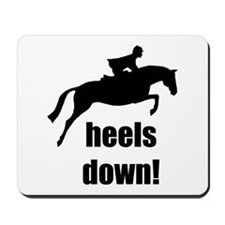 heels down jumper Mousepad