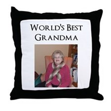 Funny Mothers day grandma Throw Pillow