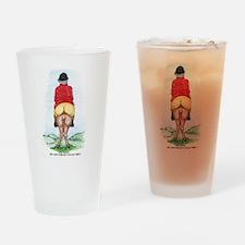 Funny Big Ass Fox Hunt Drinking Glass