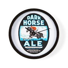 Michigan Beer Label 6 Wall Clock