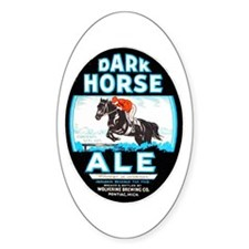 Michigan Beer Label 6 Decal